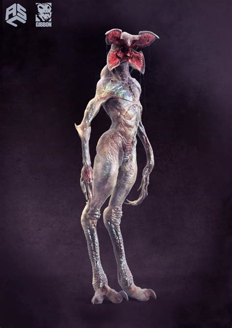 creepy alternate designs for stranger things creature