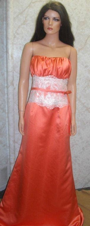 persimmon color dress persimmon color bridesmaid dresses