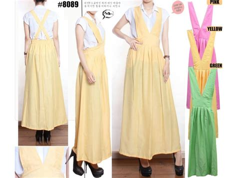 Seri Warna Blouse Viola jumpsuit dress vneck seri warna pastel 8089