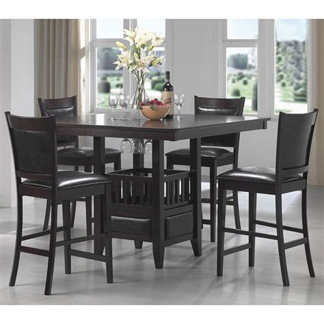 coaster dining room furniture jaden counter height dining room set coaster furniture