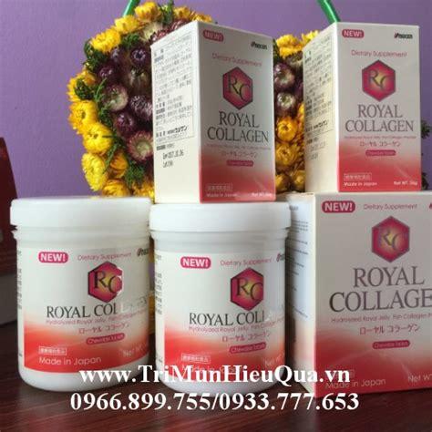 Royal Collagen royal collagen trị sạch mụn phục hồi da sau mụn hộp