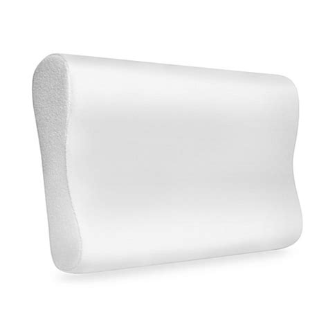 memory foam pillow bed bath beyond serenia sleep memory foam contour pillow bed bath beyond