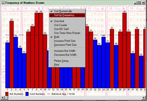 pattern analysis of powerball win a lotto lottery software with results for us canada