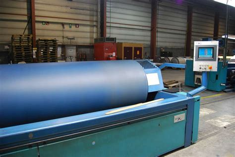 Sectional Warping by Used Benninger Ben Tronic 3000 Sectional Warping Machine