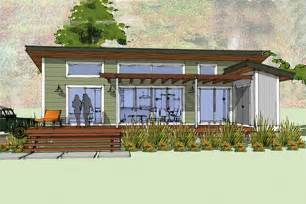 Lake House Blueprints Modern Style House Plan 1 Beds 1 00 Baths 640 Sq Ft Plan