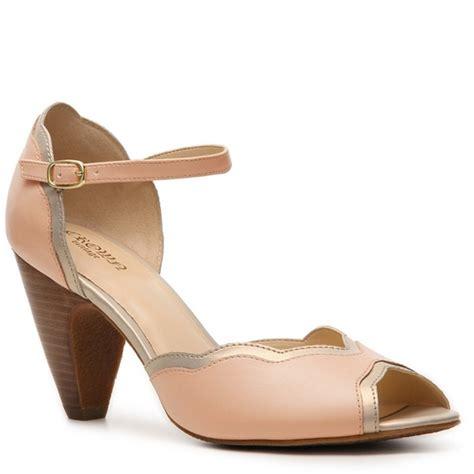 crown vintage shoes 61 crown vintage shoes light pink retro peep toe
