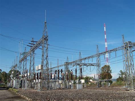 layout gardu induk tower listrik