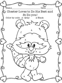 the kissing hand chester raccoon coloring page by sarah