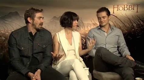 Evangeline Lilly Tries To Look Angry by Evangeline Lilly Was Surprised Tauriel Didn T See More
