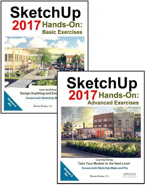 tutorial sketchup 2017 pdf sketchup 2017 hands on basic and advanced exercises pdf