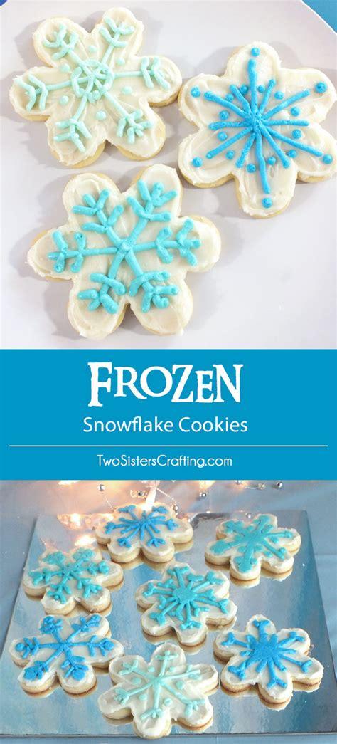 Link Precious Snowflake Cookies 2 by Disney Frozen Snowflake Cookies Two