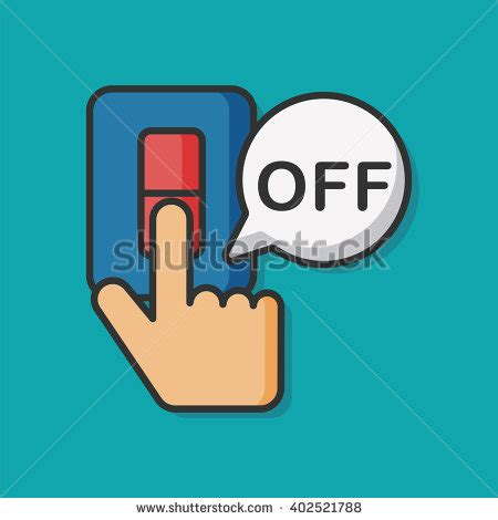 turn on light switch turn light stock images royalty free images vectors