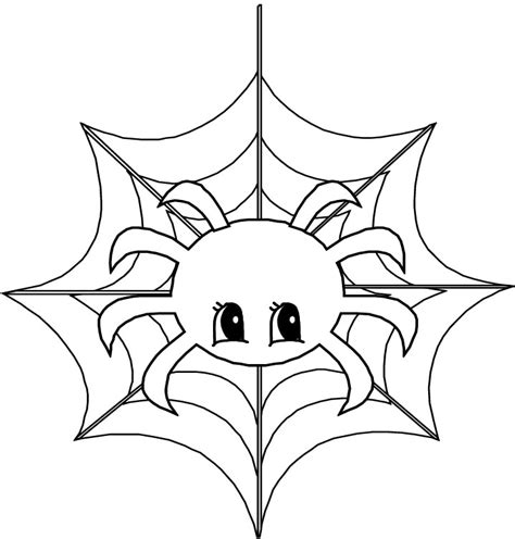 cute spider coloring pages cute spider coloring page az coloring pages