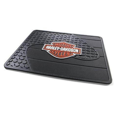 Harley Davidson Floor Mat by Harley Davidson 174 Utility Mat 137746 Floor Mats At