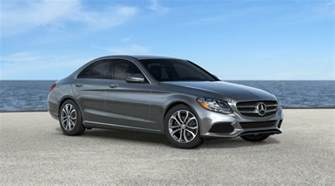 available color options for the 2017 mercedes c class