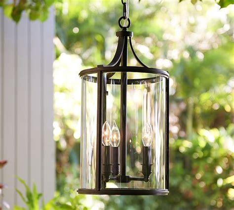 pendant lighting outdoor belden indoor outdoor pendant pottery barn