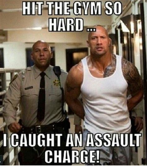 The Rock Memes - going to hit it hard again folks in beast mode no pain or
