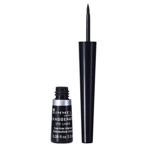 Rimmel Eyeliner rimmel liquid exaggerate eye liner 100 black chemist