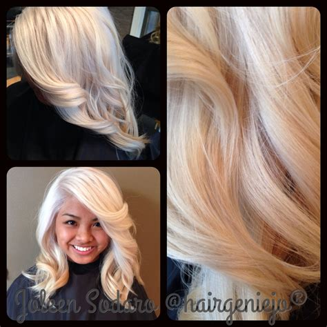 level 10 hair color color correction brassy mess to level 10 platinum