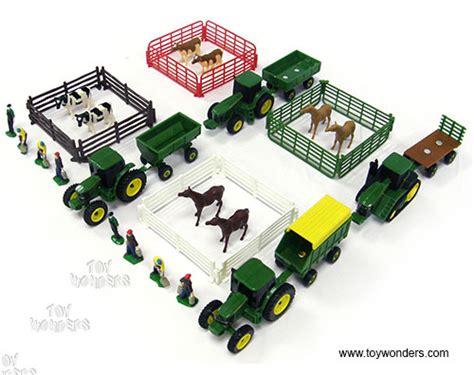 john deere 4 piece canister set case pack 2 just 82 38 10 piece farm set 4 styles 37657wm 8 sets tomy ertl john