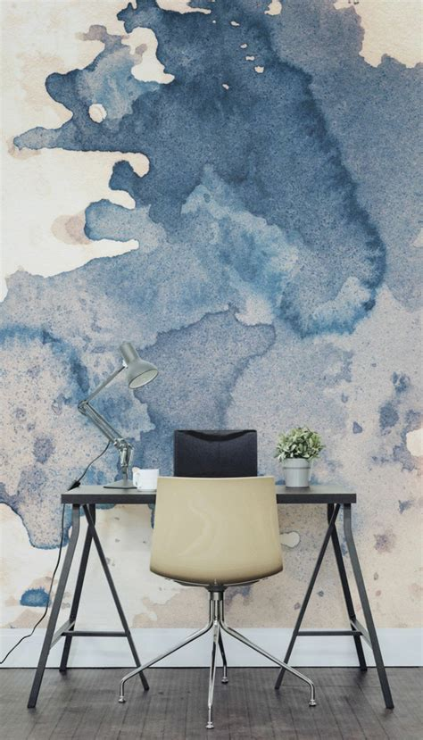 aquarell tapete 14 wandgestaltung ideen aus verschiedenen materialien f 252 r