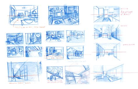 background design and layout animation ashcan sketches