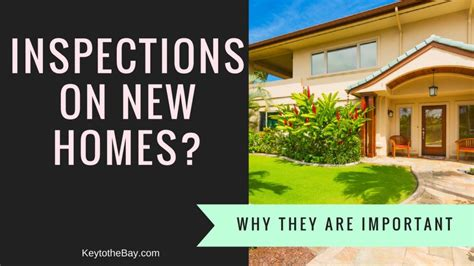 i want a new house do new homes need inspections tri valley new homes