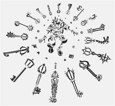 keyblade tattoo 17 best images about keyblades on disney