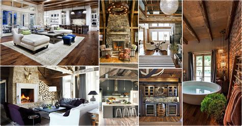 Home Decor Rustic Modern Chic Rustic Home Interiors For This Fall That You Will