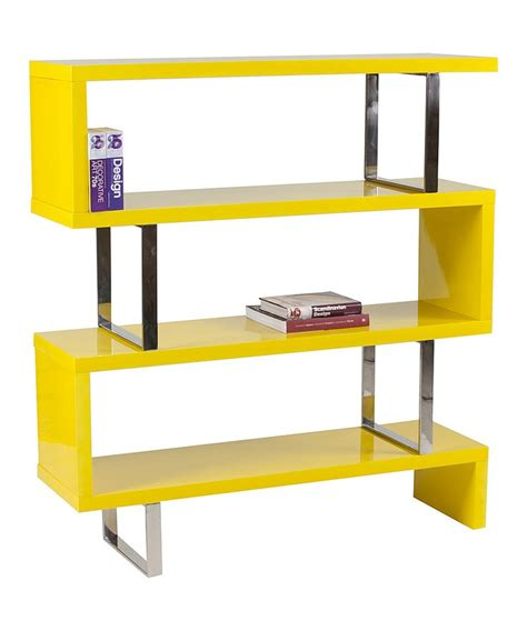 yellow santoni shelf