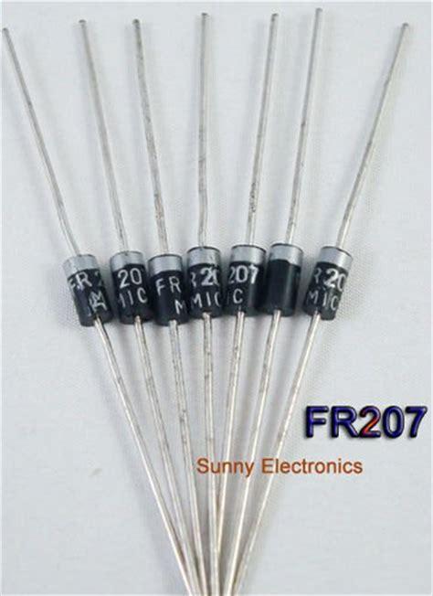 diode xung diode xung fr207 2a dip