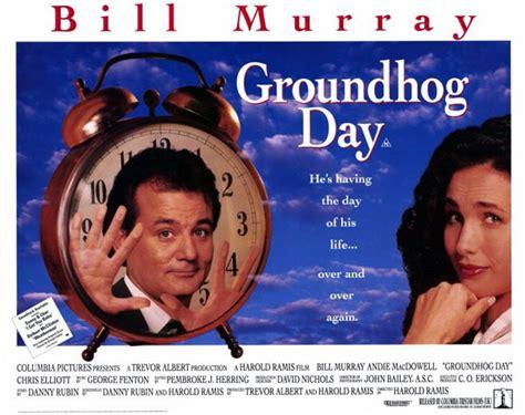 groundhog day vf affiche cin 233 ma n 176 3 de un jour sans fin 1993 scifi