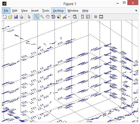 line pattern in matlab how to plot 3d line vectors in matlab using quiver3