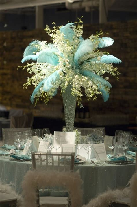 centerpiece with feathers 5 things to add to your xv centerpieces to make them pop