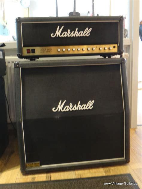 marshall jcm 800 cabinet for sale marshall 2210 jcm 800 top und cabinet 1980 s black tolex