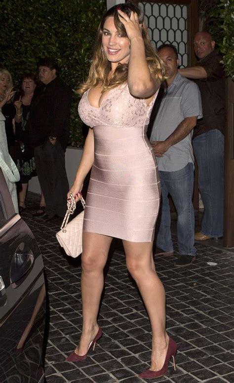 celebrity pink jeans lace kelly brook wears tight lace dress celebrity news
