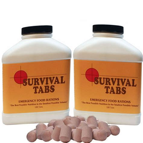 Feed My Brain 30 Tabs chocolate 30 day supply survival tabs emergency food rations nutrition in volume ebay