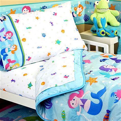 mermaid toddler bedding set olive mermaids toddler bedding set