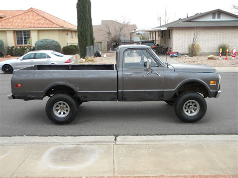 how long is a long bed truck 1971 chevrolet k10 4x4 half ton long bed pickup truck for sale