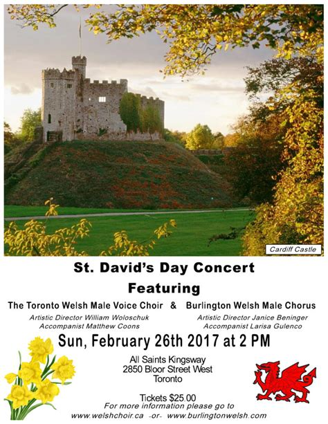 Church For St Davids Day 2 by Archive Past Concert Joint St David S Day With