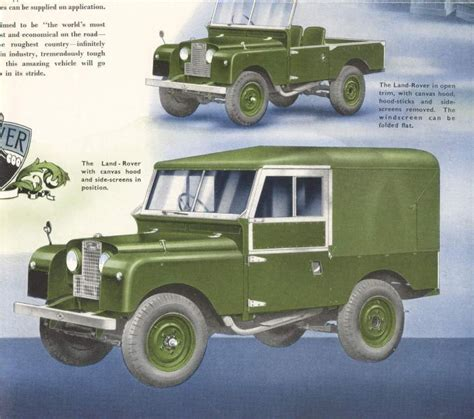 Topi Land Rover Series One Club land rover series one club gallery slideshow