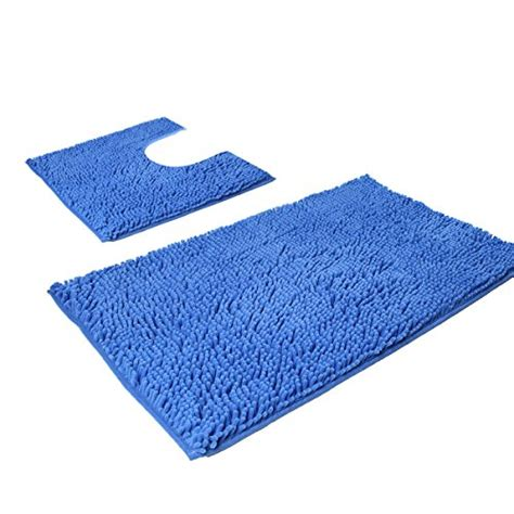 vdomus non slip microfiber shag bath mat bathroom mats vdomus synchkg129361 vdomus microfiber bathroom contour