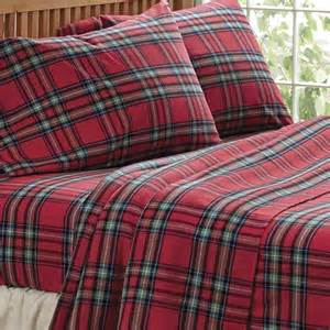 red flannel comforter tartan flannel sheet set and bedding tartan flannel