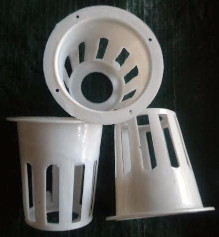 Dijamin Netpot Putih jual netpot putih tinggi 5 cm diameter 5 5 cm bibit