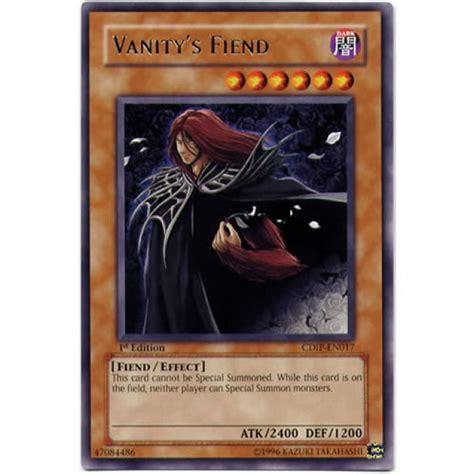Vanitys Fiend by Vanity S Fiend Cdip En017 Unlimited Edition Yu Gi Oh Card