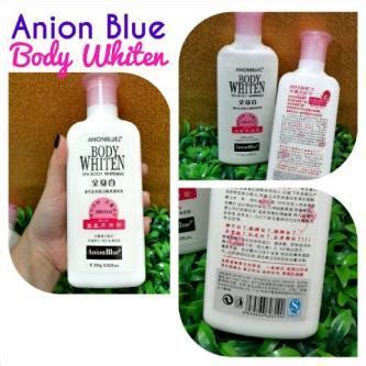 Lotion Anion anion blue whitening lotion pemutih badan