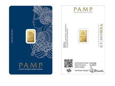 the bullion desk live gold pamp suisse 1 gram gold bullion bar 999 9 fine for sale