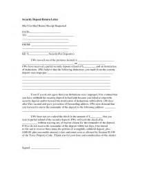 best photos of landlord security deposit return letter