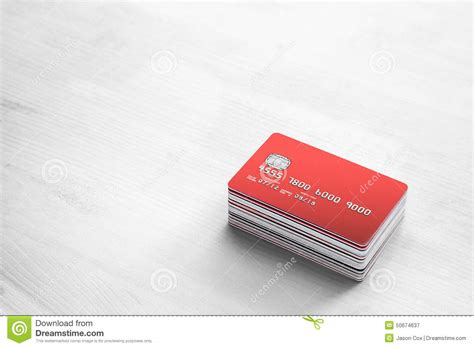 bench credit card credit cards on a white wooden table stock photo image