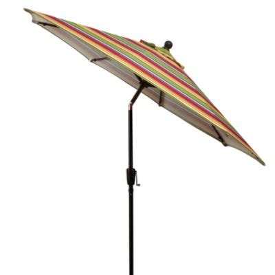 buy striped patio umbrellas from bed bath beyond